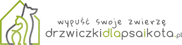 logo drzwiczki dla psa i kota